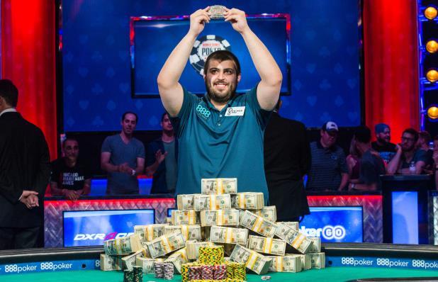 Скотт Блюмштейн - победитель WSOP 2017