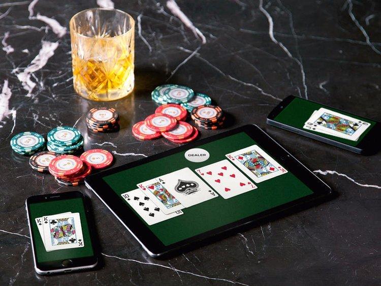 Игра в покер на iPhone